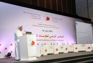 Keynote speech at the International Conference on Future Governments