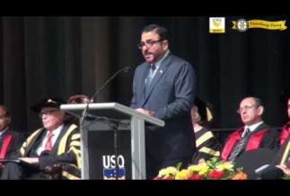 Embedded thumbnail for My Commencement Address @USQ graduation ceremony